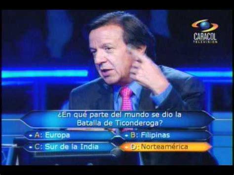 preguntas dificiles naruto 191 qui 233 n quiere ser millonario colombia 300 millones