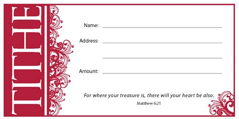 Tithe Envelope Offering Envelopes Paper Christian Supply Tithe Envelope Template