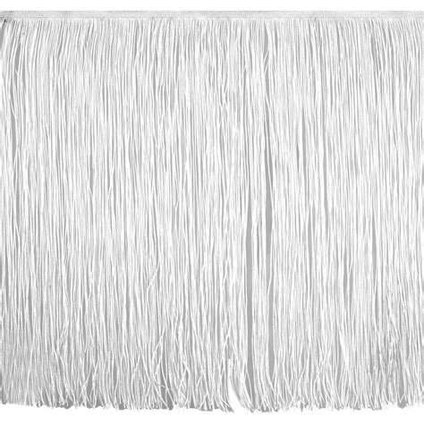 Upholstery Fringe Trim by 18 Quot Chainette Fringe Trim White Discount Designer Fabric