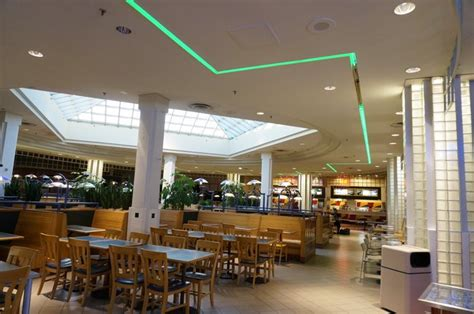 food court lighting design dead malls childhood memories and 80s style mirror80