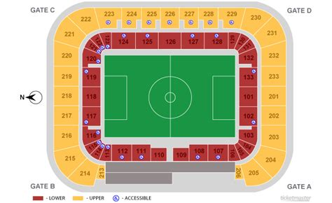 red bull arena harrison  schedule seating