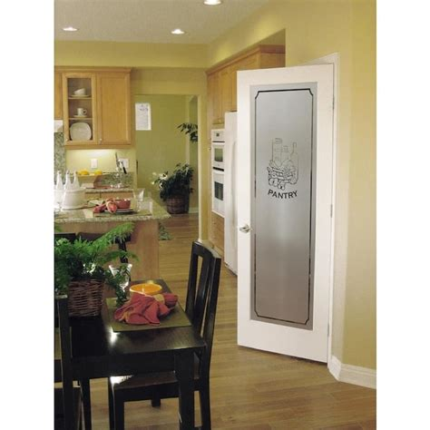 american building supply white  panel solid core frosted