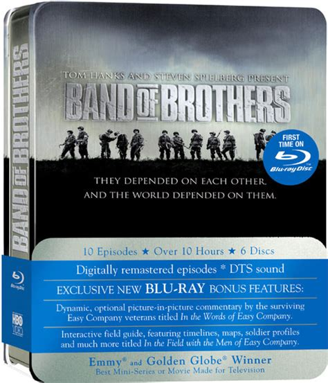 Band Of Brothers Dvd Box Set Collection Koleksi band of brothers cover exclusive extras