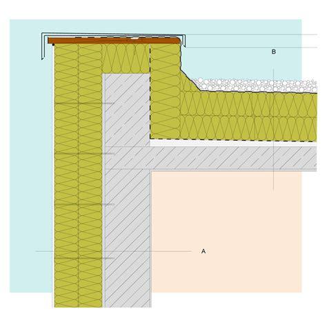 Aufbau Flachdach Betondecke by Isover G H General Title Constructions Traufe