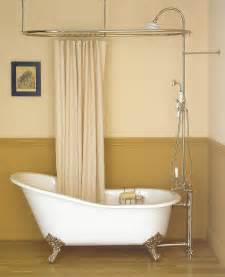 clawfoot tub shower curtain at pugsley design design design bathroom renovation