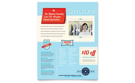 microsoft publisher flyer templates laundry services flyer template word publisher