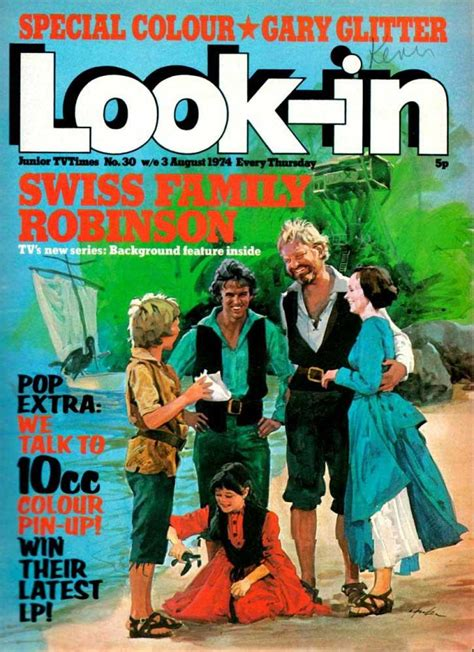 The Swiss Family Robinson look in 197430 swiss family robinson issue