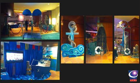 cruise themed decorations cruise ship theme event decor designed and built by sixth