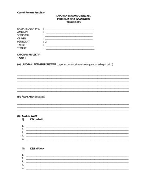 artikel format teks contoh format penulisan ceramah dan khimat masyarakat ppg