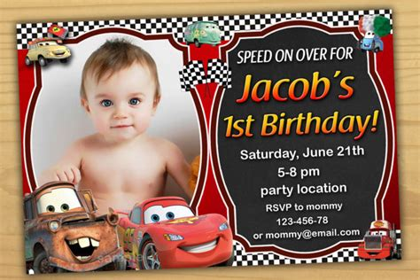 invitation for birthday sles sale disney cars birthday invitation disney cars invitation