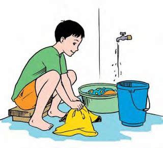 mencuci pakaian buat anak kost pewangi laundry