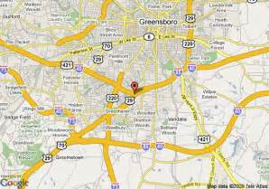 map greensboro carolina map of econo lodge and suites greensboro greensboro