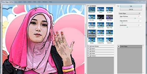 cara membuat poster photoshop cs6 cara membuat effect cartoon retro distance