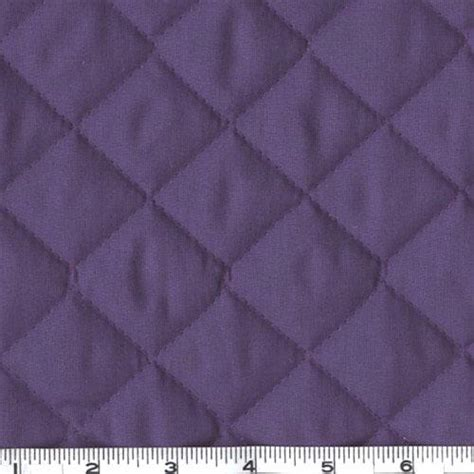 Quilted Cloth by Sided Quilted Broadcloth Purple Discount Designer