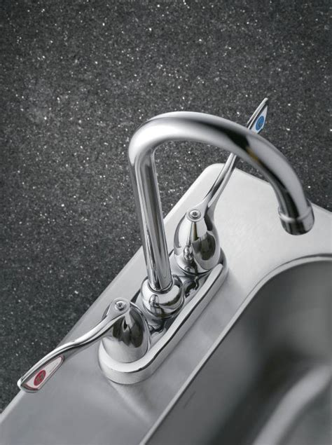 moen incorporated 8938 metal wrist blade handle bar moen 8938 commercial two handle bar faucet chrome