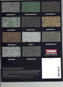 tamko shingle colors tamko roofing products