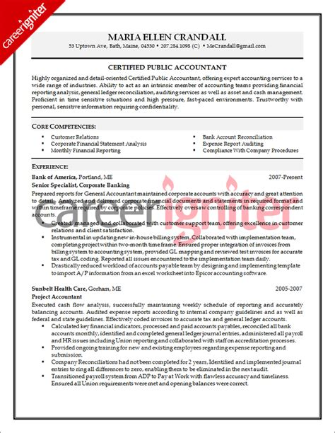 senior accountant resume http www resumecareer info