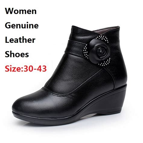 size 30 in shoes size 30 43 genuine leather boots motorcycle