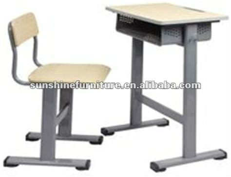 Modern Metal Frame Cheap Price Wooden School Student Desk Student Desks Cheap