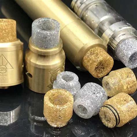 Driptip 528 Goon Epoxy Resin 528 Goon Drip Tip Gold Wide Bore Driptip 510