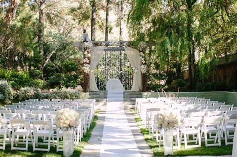 wedding in california venues top wedding venues in southern california fabulously engaged