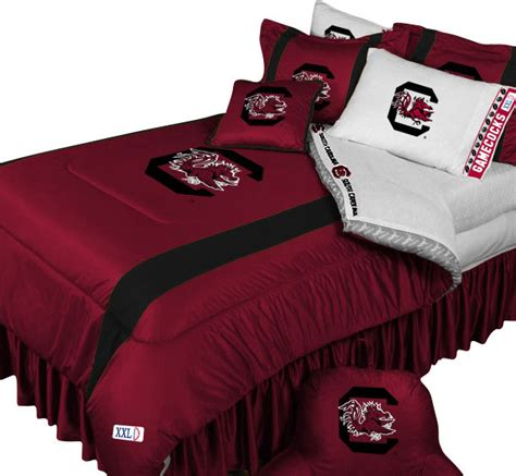football comforter sets ncaa south carolina gamecocks bedding college football