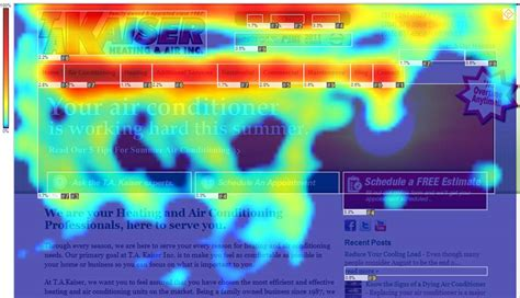 heat maps heat map provim net