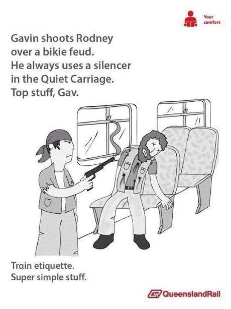 Queensland Rail Memes - train etiquette super simple stuff meme collection