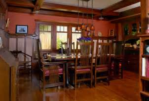 arts and crafts dining room craftsman bungalow paint colors craftsman bungalow house