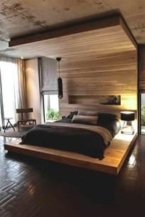lit en bois moderne pour mzaol