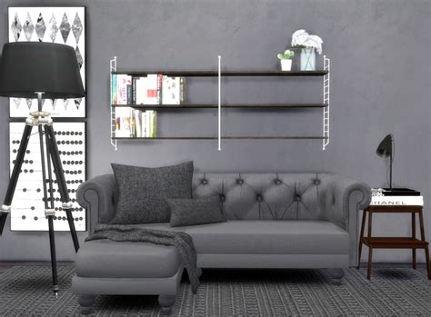 cc furniture sims 4 sims 4 cc s the best furniture by hvikis