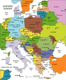 Map Of East Europe by Eastern Europe Map Imgok