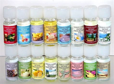 scented oil for oil ls yankee candle home fragrance oil u choose ebay