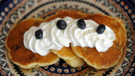 how to make blueberry pancakes 7 steps wikihow