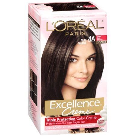 l oreal excellence creme hair color 5ar medium maple brown best deals with price l oreal excellence non drip creme protection color walmart