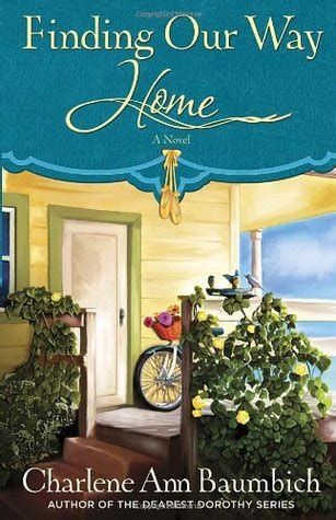 island finding our way books review finding our way home charlene baumbich