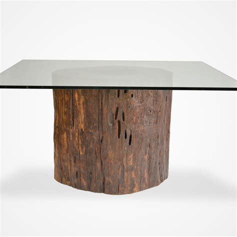 tree stump dining table furniture bed frame