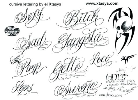 tattoo generator gangster gangster letters download by gangster letters a z cursive