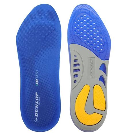 comfort foot dunlop unisex gel arch insoles silicon comfort foot feet