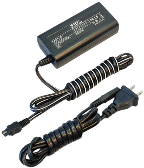 Adaptor Handycam Sony hqrp ac adapter charger for sony handycam hdr cx115e hdr