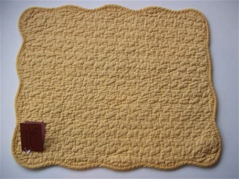 Yellow Quilted Placemats by Solid Golden Yellow Quilted Cotton Placemats Set Of 2