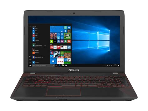 Asus Gaming Laptop Review asus fx53vw gh71 15 6 fhd gaming laptop review impressive notebooks