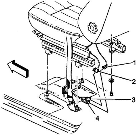 airbag deployment 2000 buick lesabre parking system repair guides air bag supplemental restraint system disarming arming autozone com