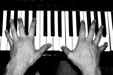 Free Images Hand Music Black And White Technology