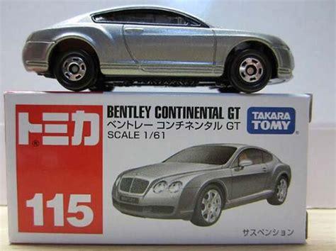 Diecast Tomica Original Bentley Continental Gt silver 1 61 scale tomy diecast bentley continental gt bl2t006 ezbustoys