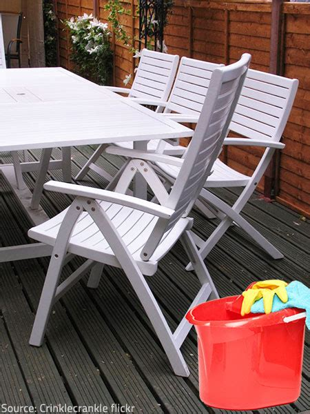 Cleaning Outdoor Furniture by Tips To Get Your Outdoor Furniture Ready For
