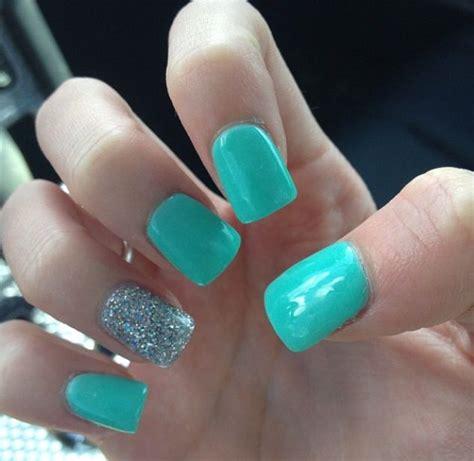 blue pattern nails tiffany blue nails tiffany glitter fabnailsareamust