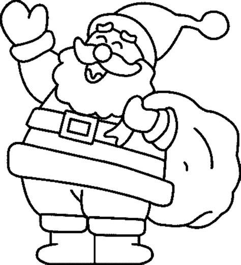 dibujos de navidad para colorear de santa claus dibujos infantiles para colorear de navidad feliz