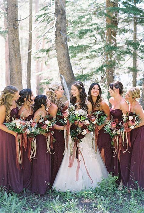 Amazing Fall Wedding Colors Bridesmaid Dresses   Wedding Ideas