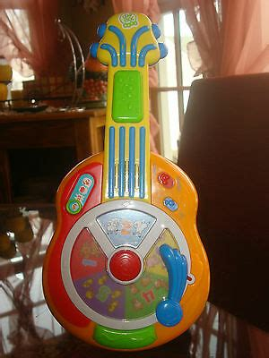 leap frog baby bilingual learn groove animal sounds guitar ebay